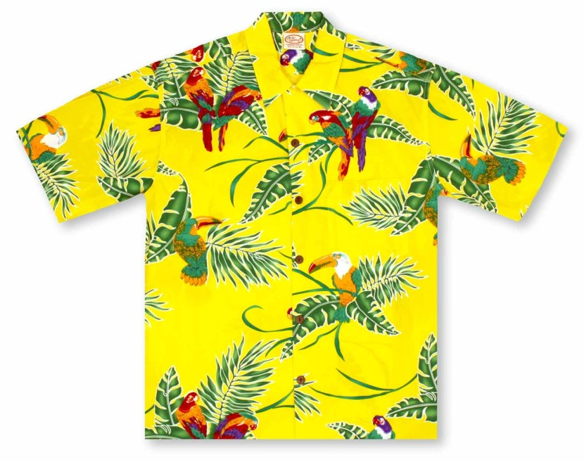 Best Hawaiian Shirt Cl... Yellow Hibiscus Clip Art