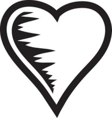Heart Black And White Hearts Clipart Free Clip Art Images