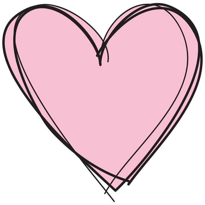 Heart Clipart Black And White