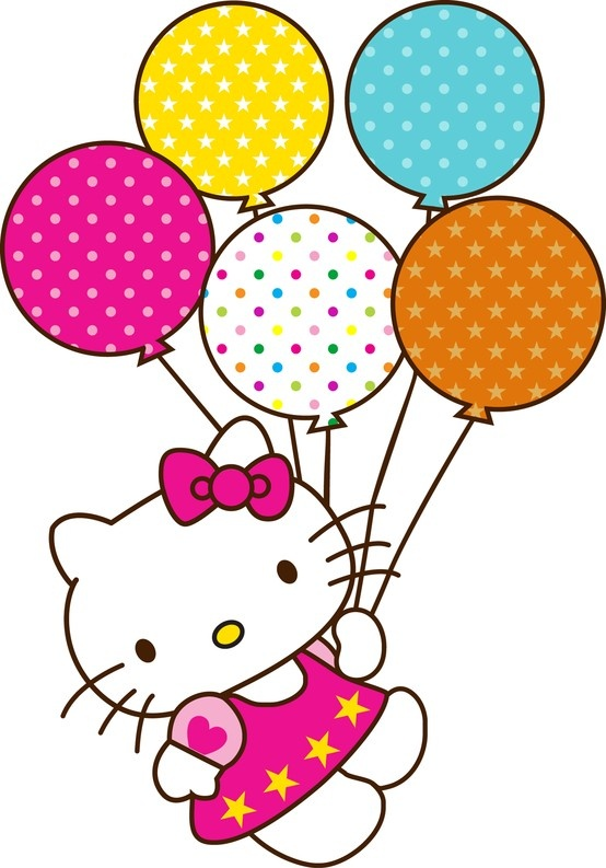 Hello Kitty Birthday Balloons Clipart Babyt Shower Ideas