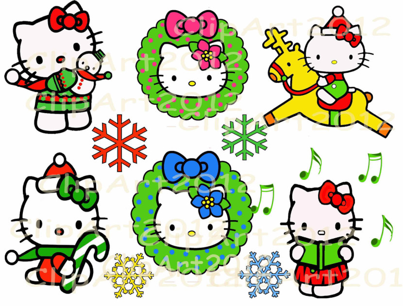Hello Kitty Roller Skating Coloring Page Clipart Free Clip Art
