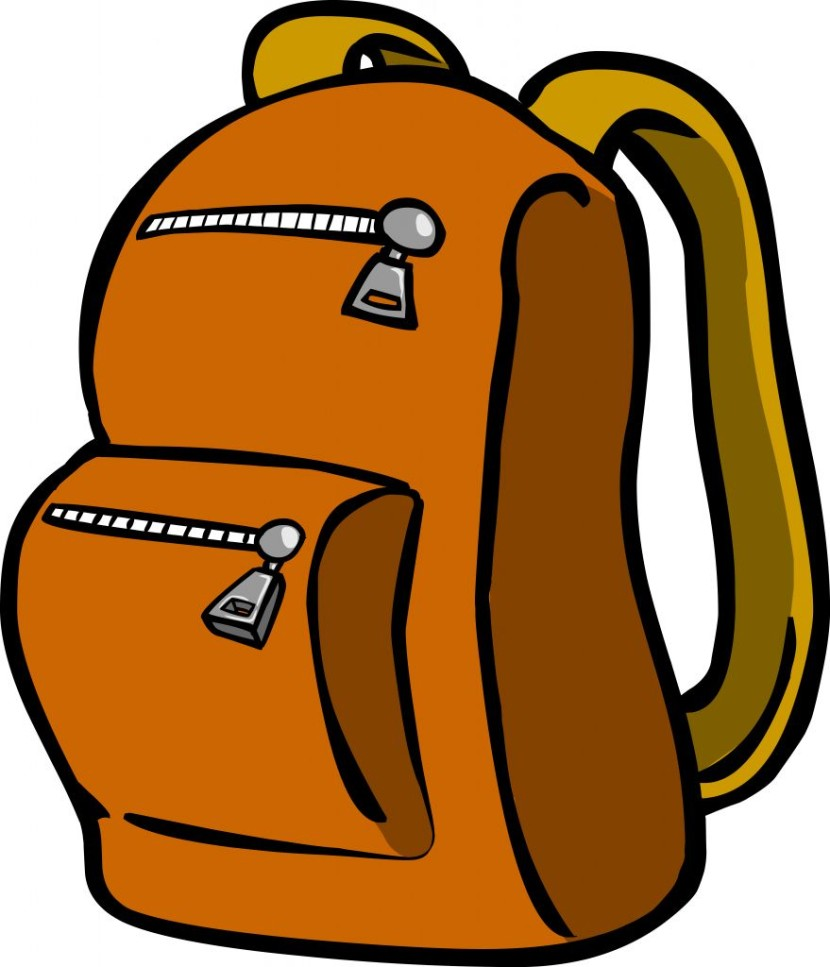 Hiking Backpack Clipart Free Clip Art Images