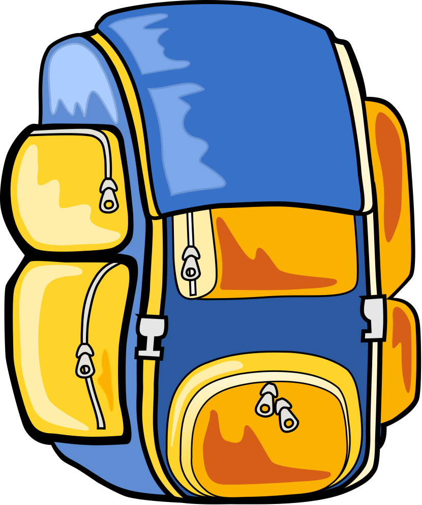 Hiking Backpack Clipart Free Clipart Images