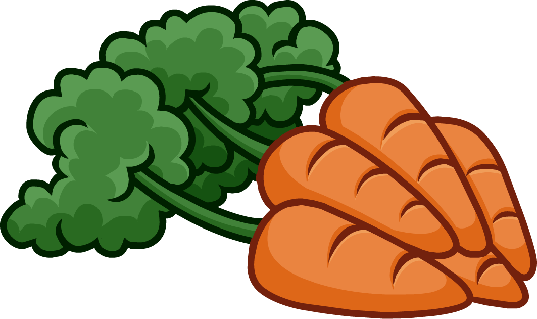 History Of Carrots Are Growing Trials In Bib Front Dress Clipart