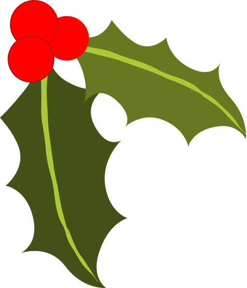 Holly Clip Art