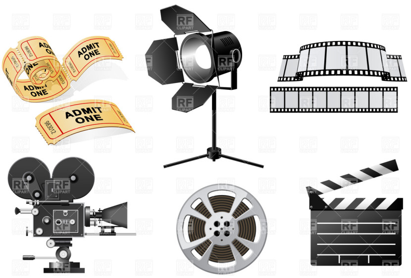 Hollywood Movie Camera Clipart Free Clip Art Images