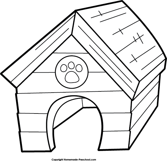 Home Free Dog Doghouse Clipart Free Clip Art Images