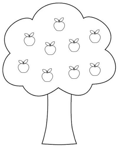 Honovylys Apple Tree Clipart
