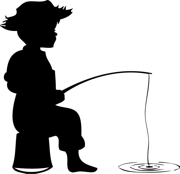 fishing silhouette clipartion com redfish tail clipart redfish clipart png