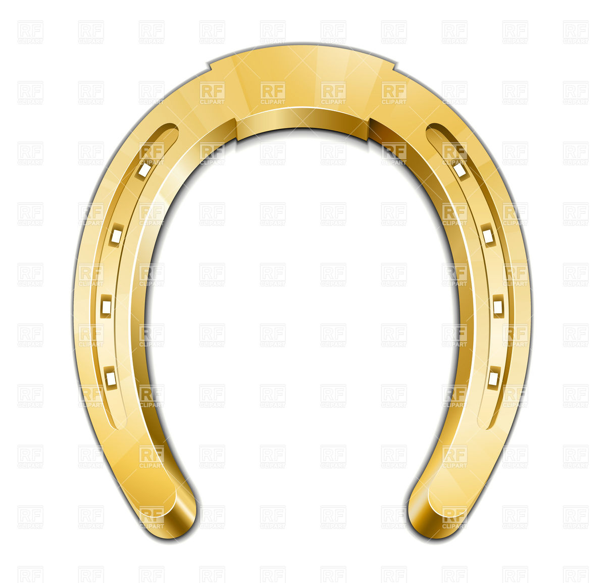 Horse Shoe Clip Art Best Horseshoe ...