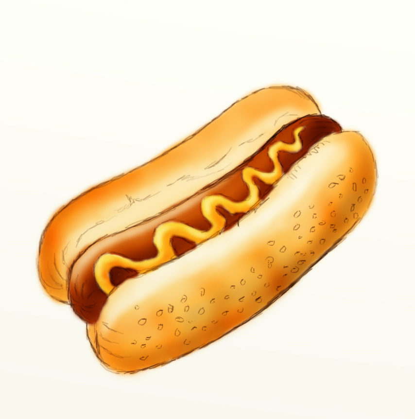 best hot dog clipart 9513   clipartion