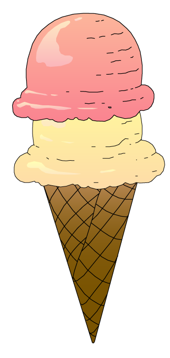 Cool Ice Cream Cone Clipart Images - Clipartion.com