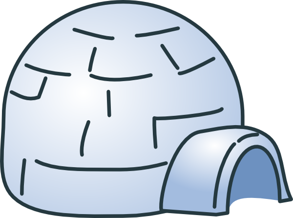 Igloo Clip Art At Vector Clip Art Online Royalty Free