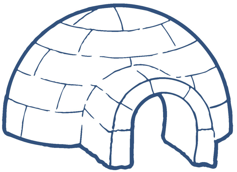 Best Igloo Clipart #11281 - Clipartion.com