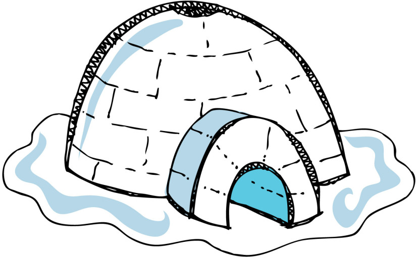 Igloo Clipart Free Clip Art Images