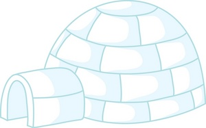 Igloo Clipart Image Icy Igloo