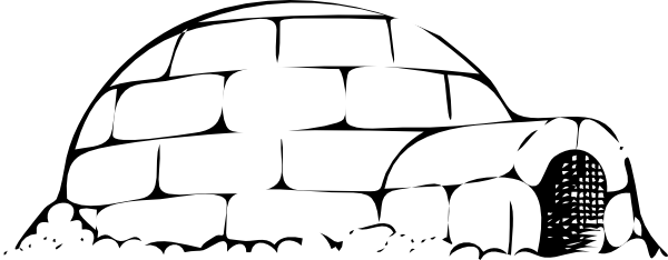 Igloo Snow House Clip Art At Vector Clip Art Online