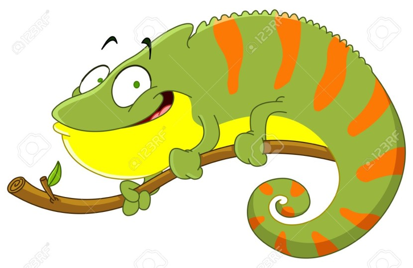Iguana Stock Vector Illustration