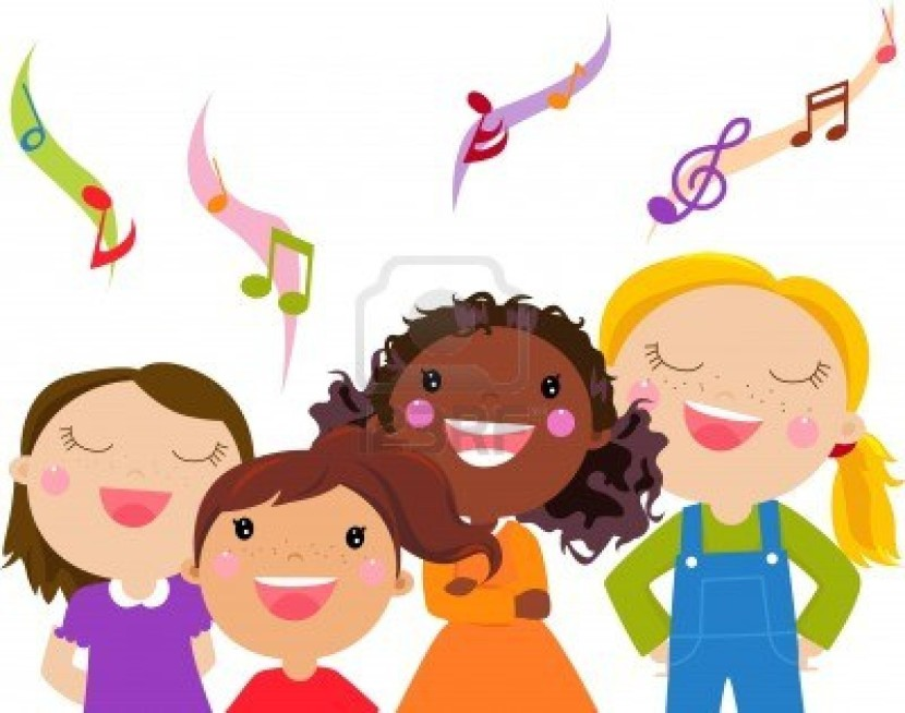 Images Children Singing Clipart Free Clip Art Images