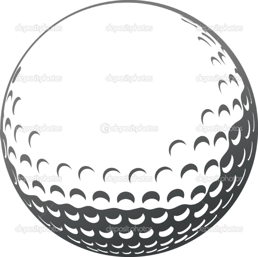Images For Gt Golf Ball Clip Art One Golf