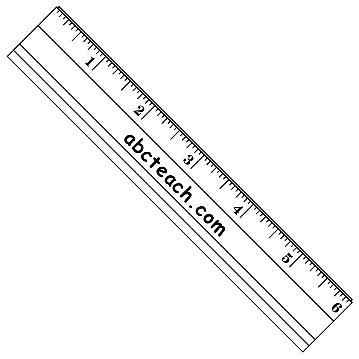 Inch Ruler Clipart Free Clip Art Images