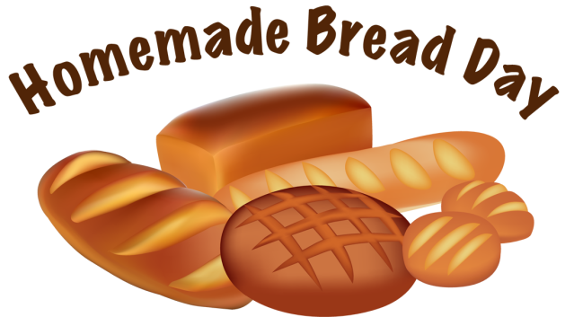 Information And Clip Art For Homemade Bread Day