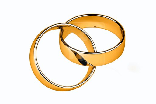 interlocking wedding rings clipart - photo #4