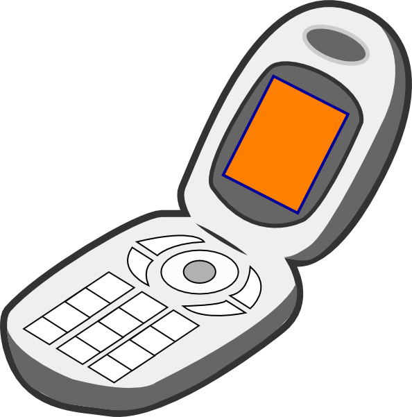 Iphone Cell Phone Clipart Free Clipart Images