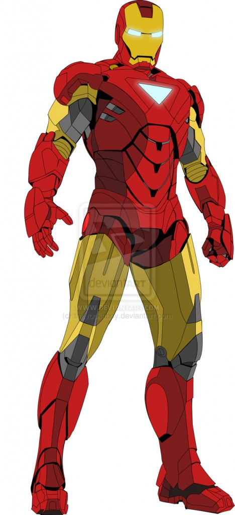 Iron Man Vector Clipart Free Clip Art Images