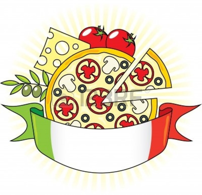 Italy Clip Art Pizza Crust Stock Vector Illustration And Royalty