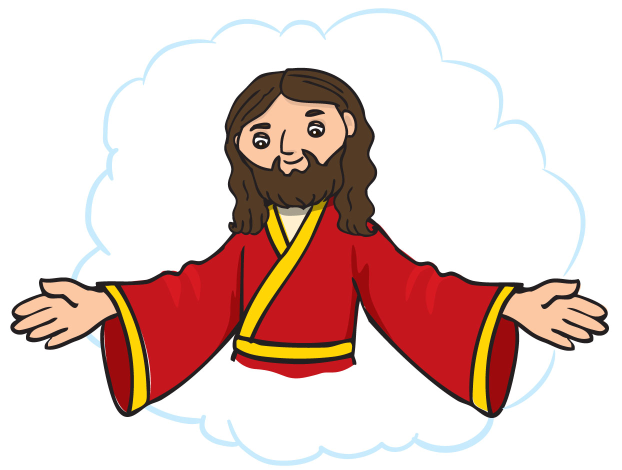 Jesus Outstrhed Hand Clipart