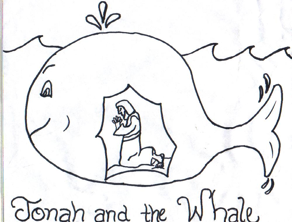Jonah And The Whale Story Clipart Free Clipart