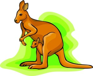 Jumping Kangaroo Clipart Free Clipart Images