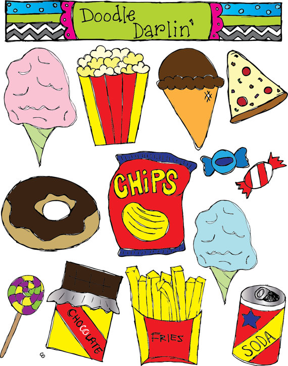 Best Junk Food Clipart #16415 - Clipartion.com