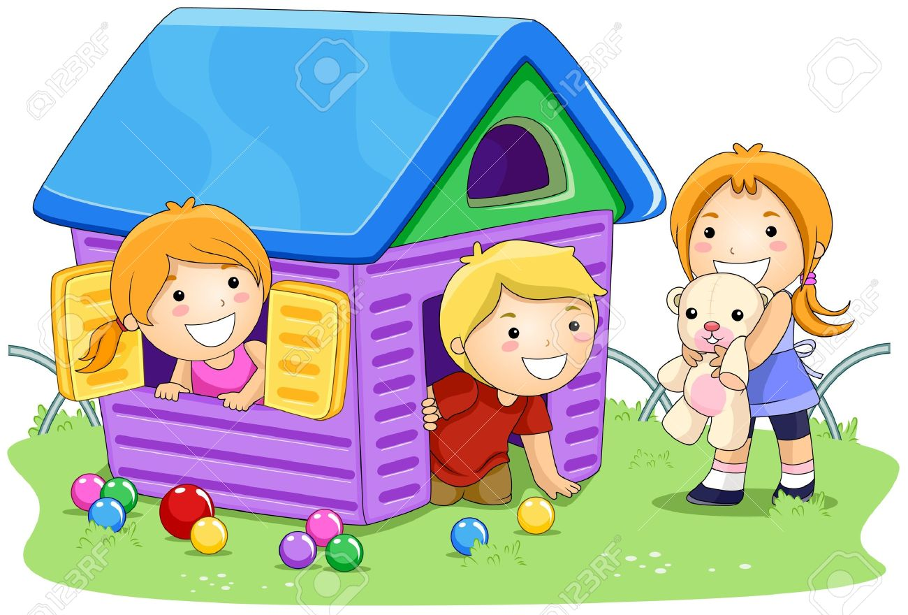 Best Children Playing Clipart #10329 - Clipartion.com
