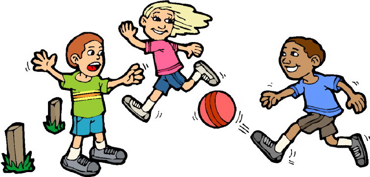 Kids Playing Sports Clipart Free Clipart Images
