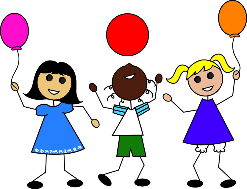 Kids Playing Summer Clipart Free Clipart Images