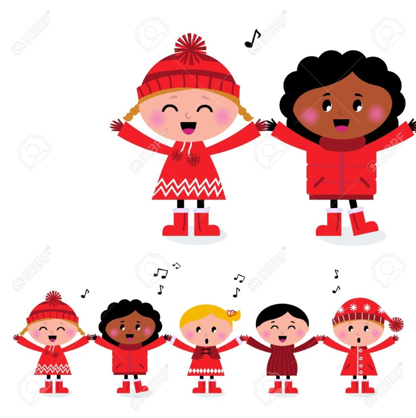 Kids Singing Stock Illustrations Cliparts And Royalty Free Kids