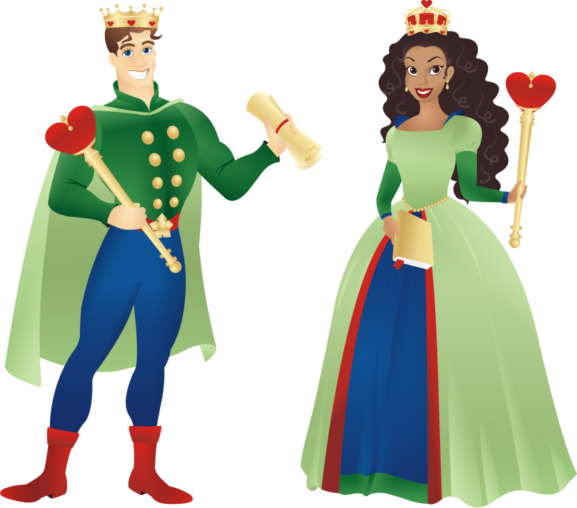 Free Clipart King Clipart on Queen Clip Art