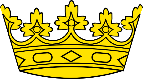 King And Queen Crowns Clipart Free Clipart Images