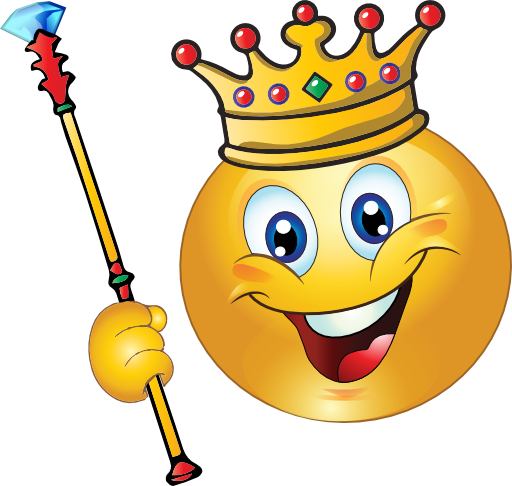 King Smiley Emoticon Clipart I2clipart Royalty Free Public