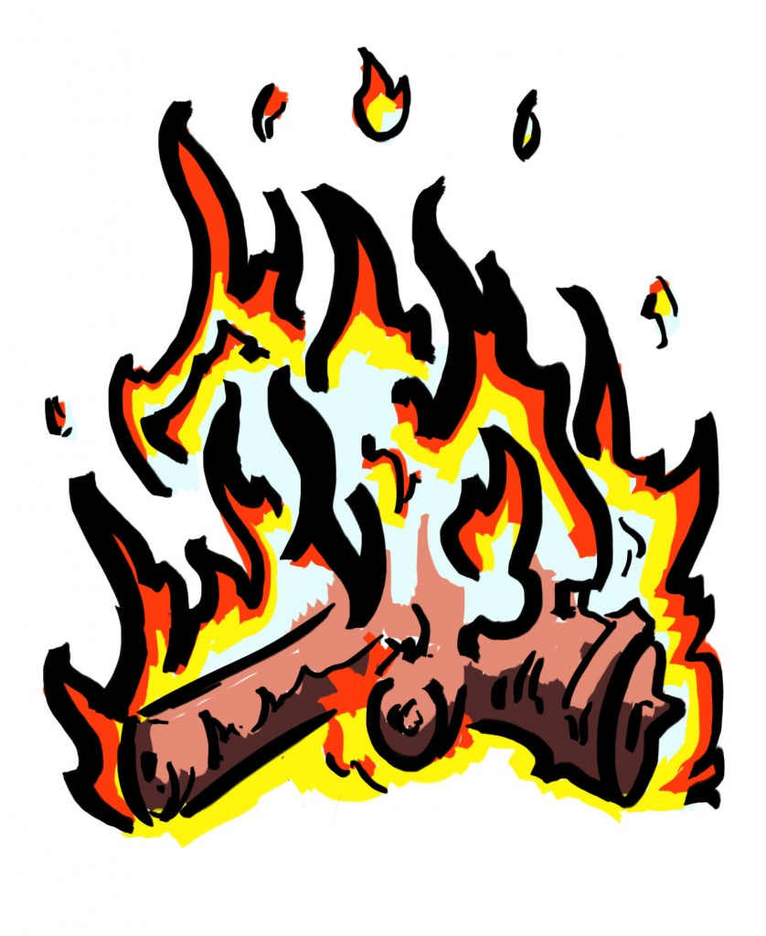 Kitchen Fire Clipart Free Clipart Images