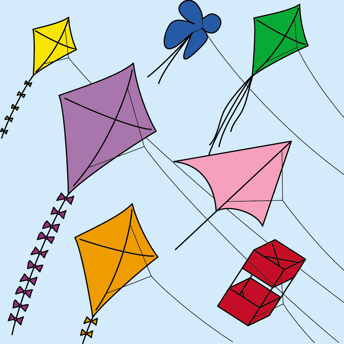 Best Kite Clipart 8539 Clipartion regarding Awesome free clip art kites for your reference