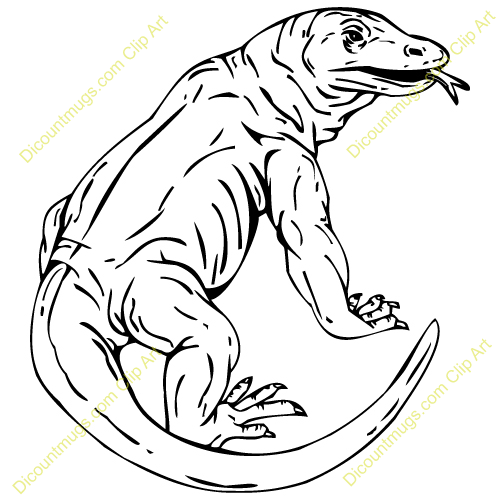 Komodo Dragon Clipart Best Clip Art Blog