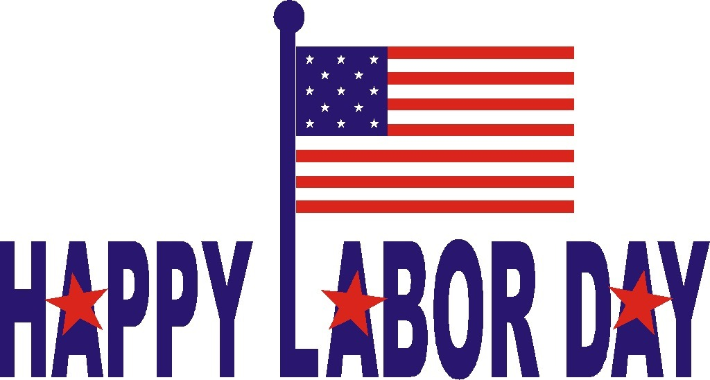 graphic regarding Closed Labor Day Printable Sign named Least complicated Labor Working day Clip Artwork #6494 -