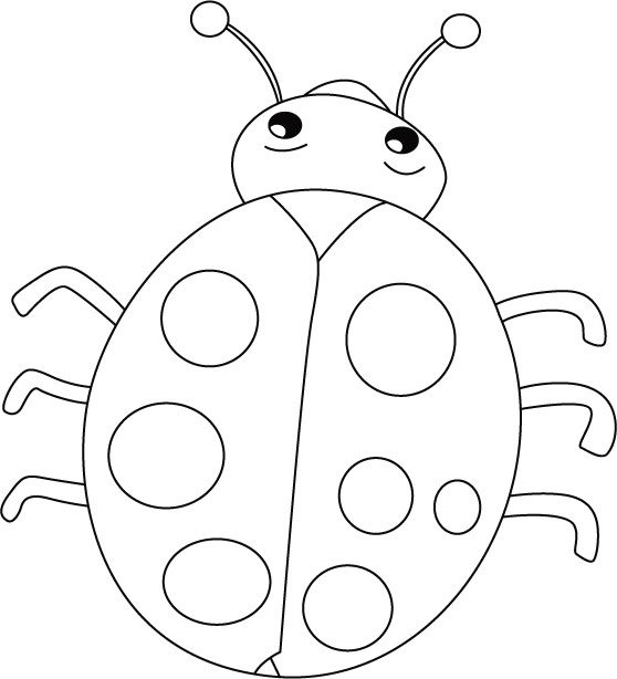 Ladybug Coloring Pages And Book Uniquecoloringpages