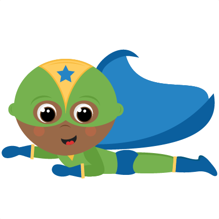 Large Flying Superhero Boy Png