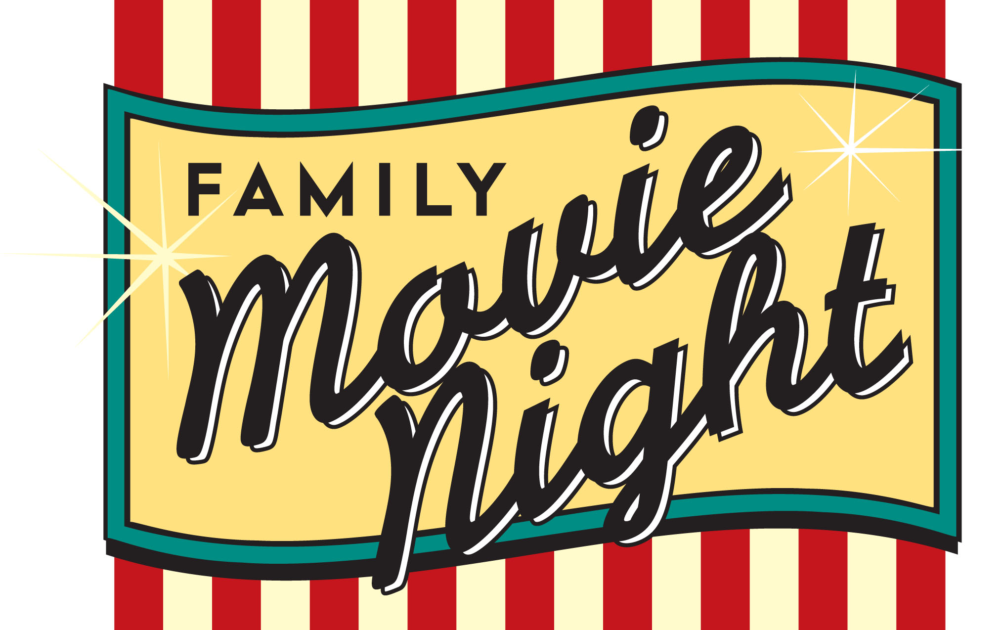 Last Chance To Come A Summer Movie Night Clipart Free Clip Art