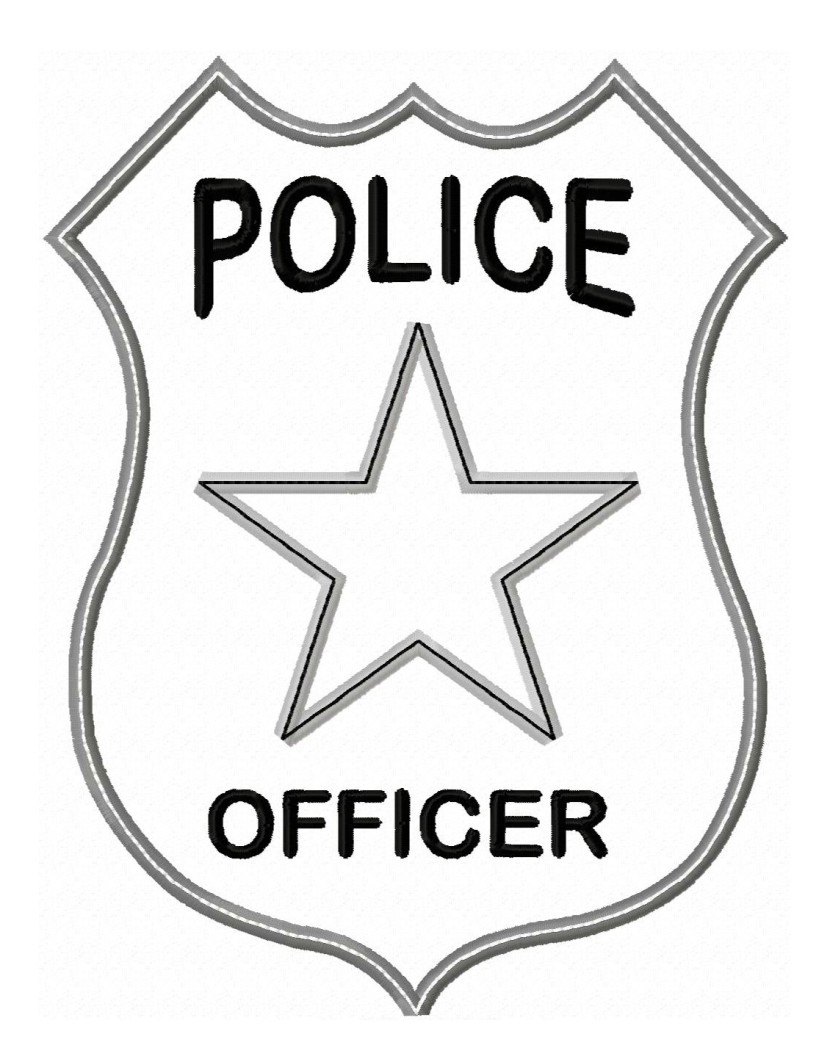 Best Police Badge Clipart #14792 - Clipartion.com