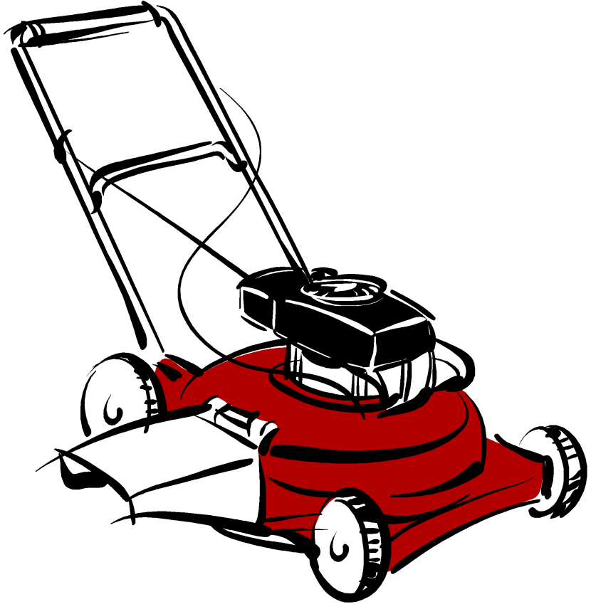 Lawn Mower Clipart Free Clip Art Images